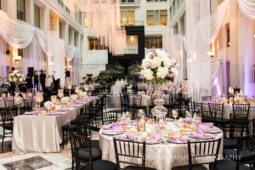 Wedding Reception At Artium The Curtis Center