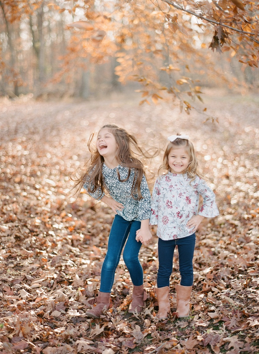 Autumn family portraits in South Jersey.