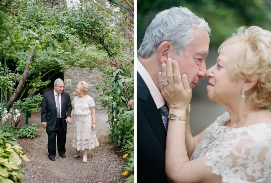 50th Anniversary and vow renewal at Grounds for Sculpture.