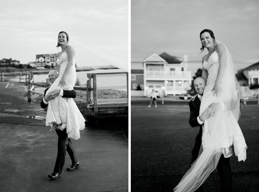 Bride and groom portraits at Windrift Hotel wedding.