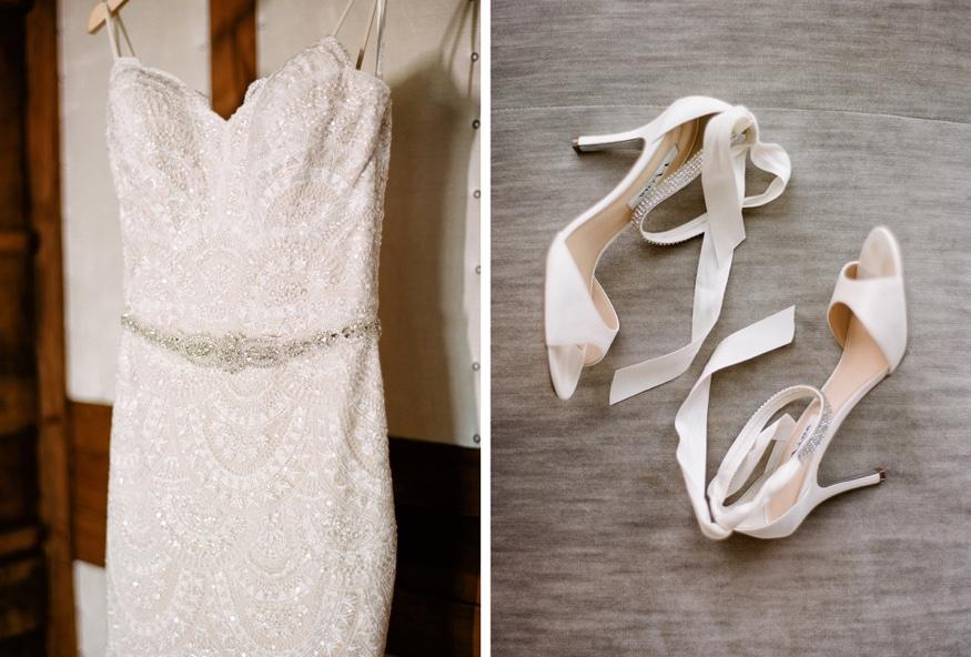Anne Barge wedding dress at Park Chateau wedding.
