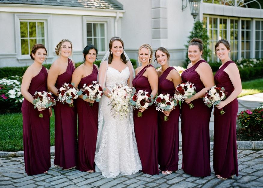 Bridesmaids at Park Chateau wedding.