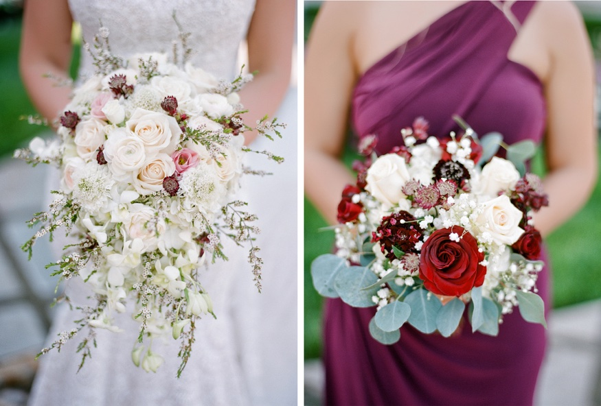 Flowers by Designs by Linda at Park Chateau wedding.