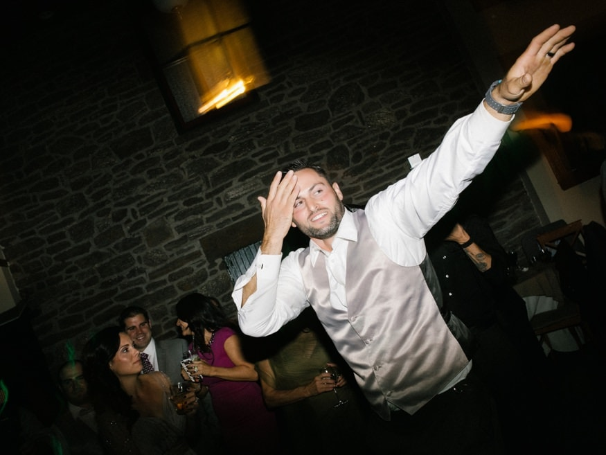 Dancing at Knowlton Mansion wedding reception.