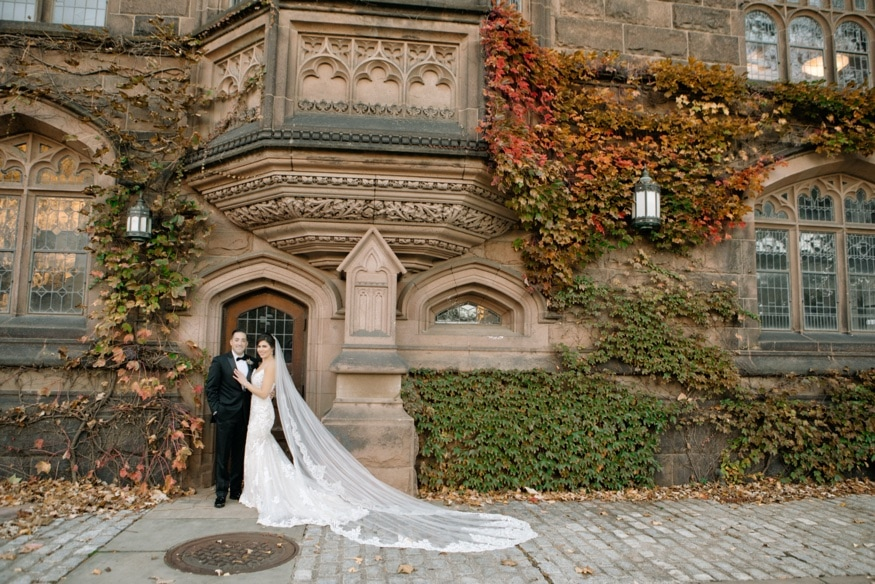 Princeton University wedding portraits before Somerset NJ wedding.