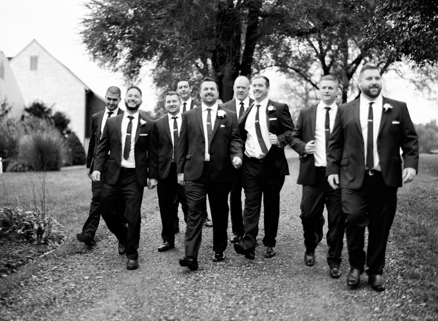 Groomsmen portraits at the Brandywine Manor House wedding.