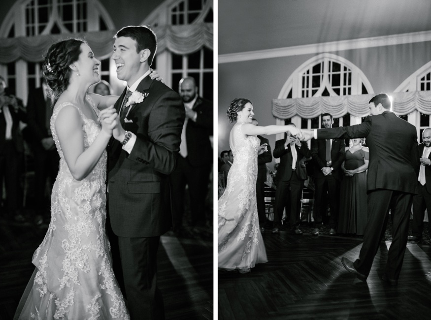 First dance at Pen Ryn wedding.