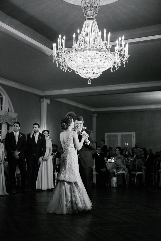 First dance at Pen Ryn Estate wedding.