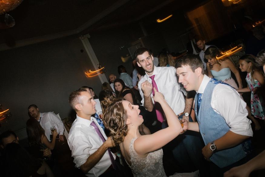 Wedding reception at Pen Ryn Estate.