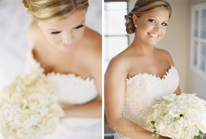 bride portraits at ocean city wedding