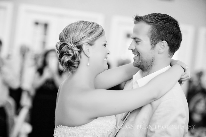first dance at ocean city yacht club wedding