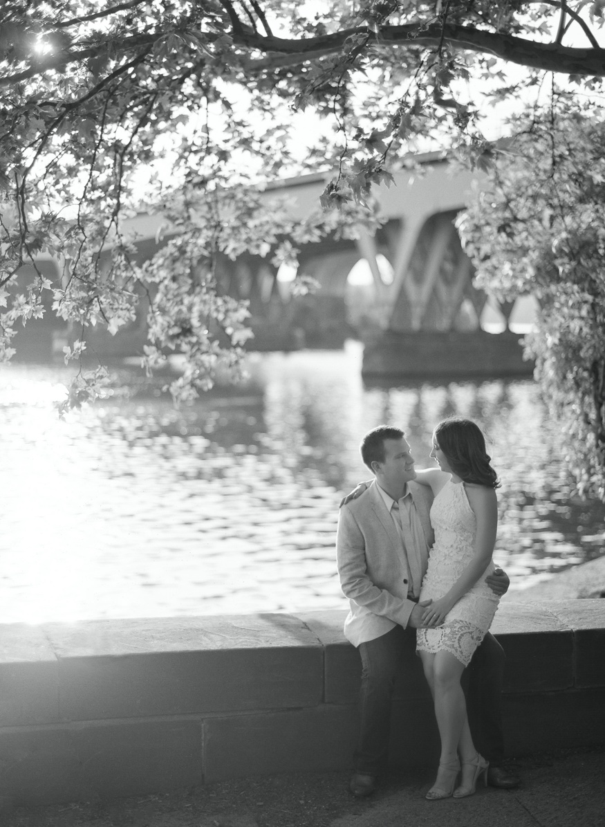 Boathouse Row engagement session.