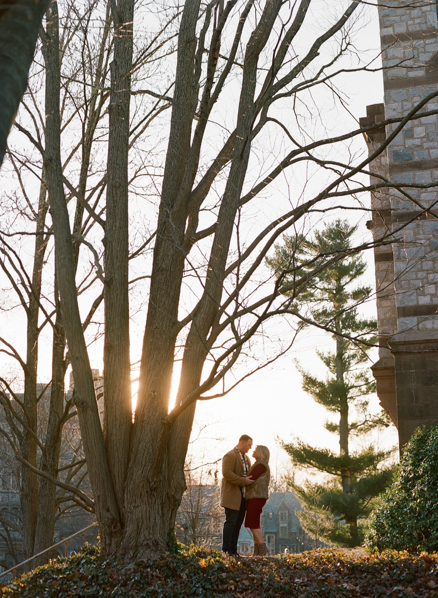Princeton University engagement session.