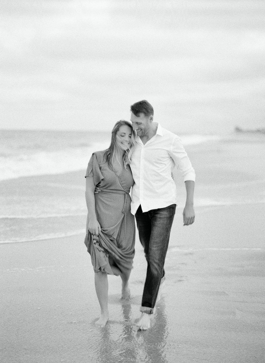 Sea Bright beach engagement session.