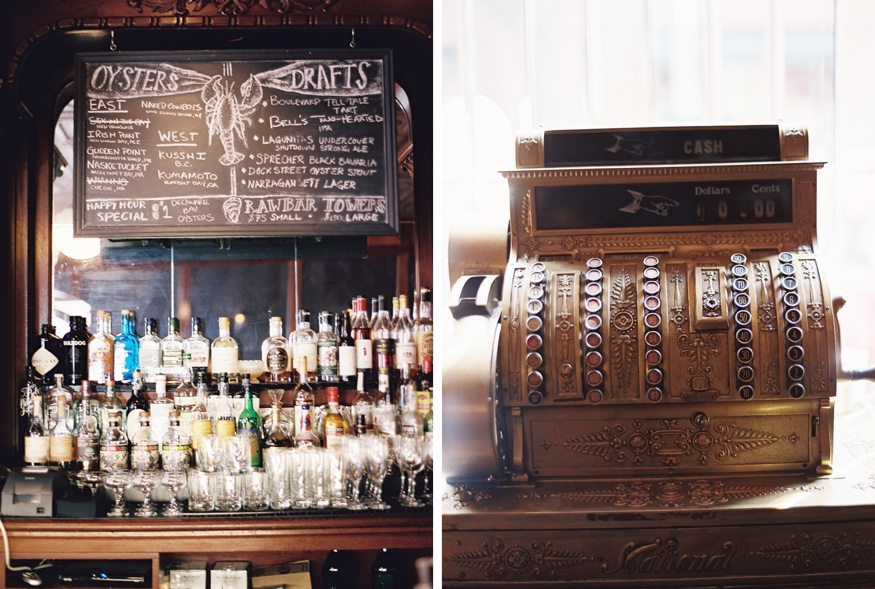 Reception details at Olde Bar Philadelphia wedding.