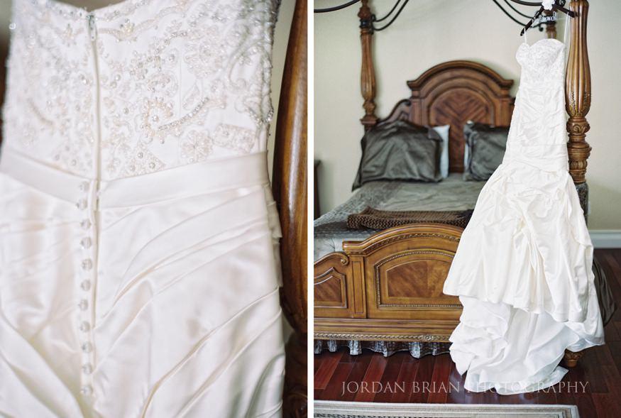 Bride's dress in Medford, NJ
