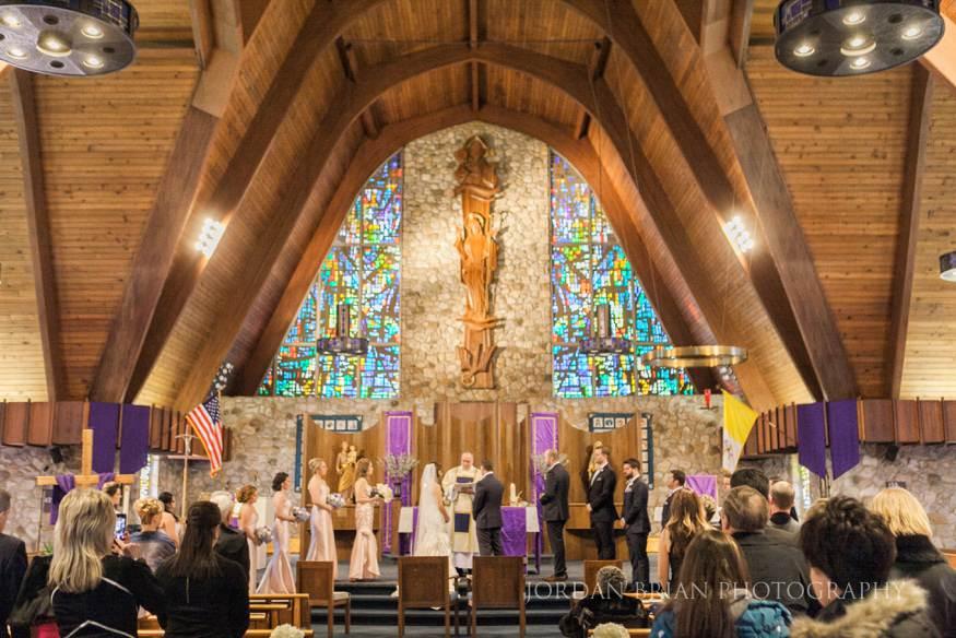 Ceremony at St. Mary's Medford Lakes