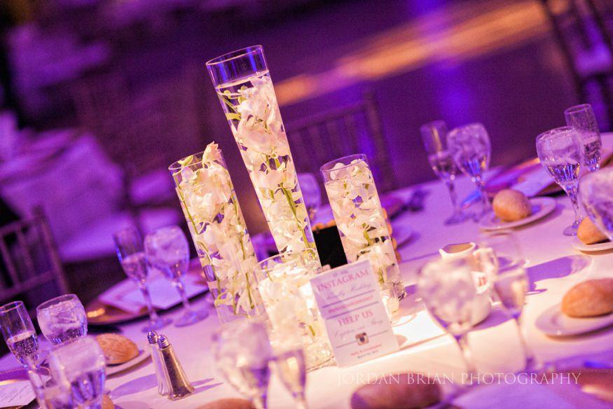 Table Decor at Ballroom at the Ben