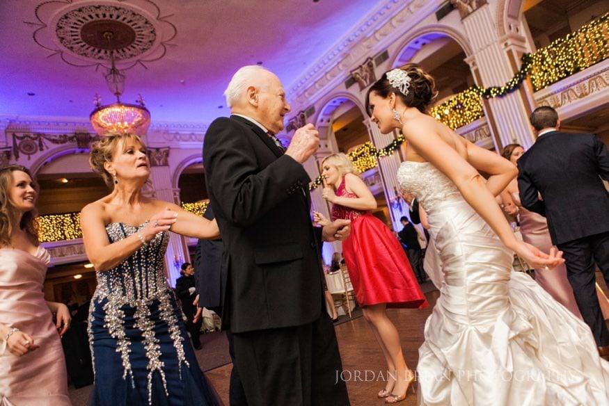Bride dancing philadelphia Ballroom at the Ben