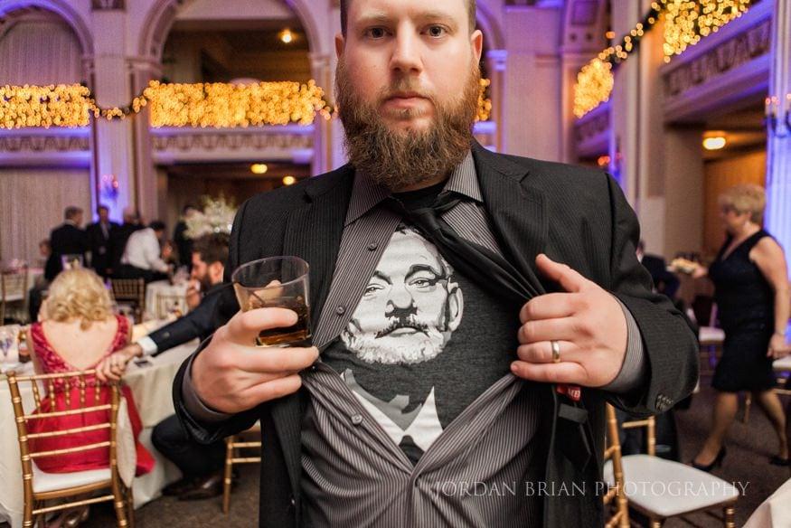 Bill Murray shirt at Ballroom at the Ben