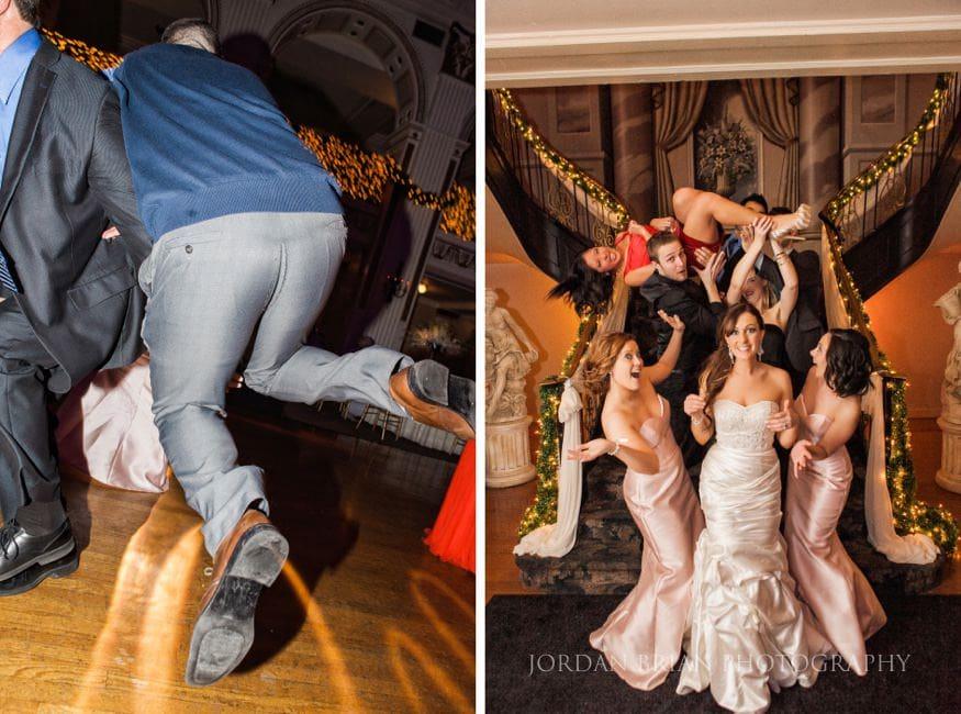 Guests dancing at at Ballroom at the Ben