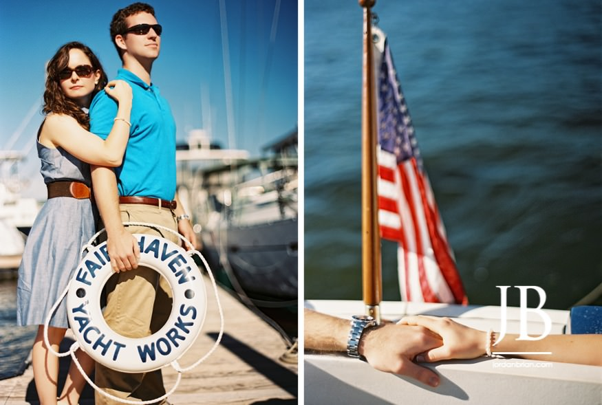 jordan brian photography, wedding photography, portrait photography, philadelphia wedding photography, new jersey wedding photography , south jersey wedding photography, maryland wedding photography, delaware wedding photography, fair haven yacht works, red bank, sailboat engagement