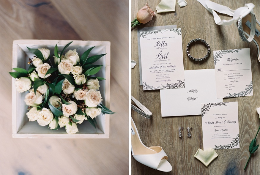 Wedding invitations by Minted for Icona Avalon wedding.