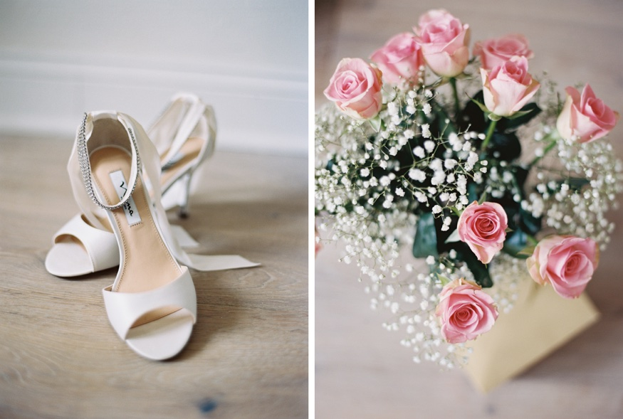 Nina wedding shoes for bride at Icona Avalon wedding.