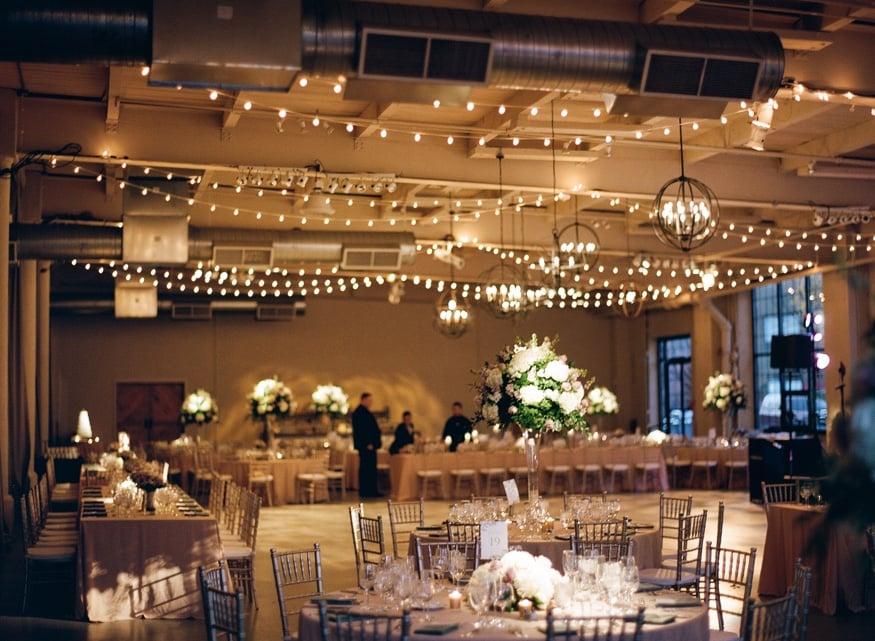 Wedding reception at Moulin Philadelphia.