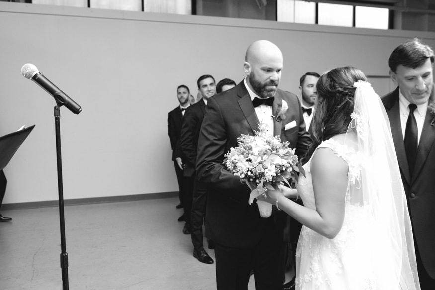 Moulin Philadelphia wedding ceremony.
