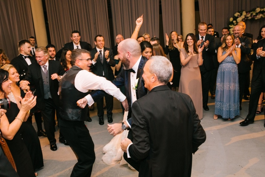 Wedding reception at Moulin at Sherman Mills.