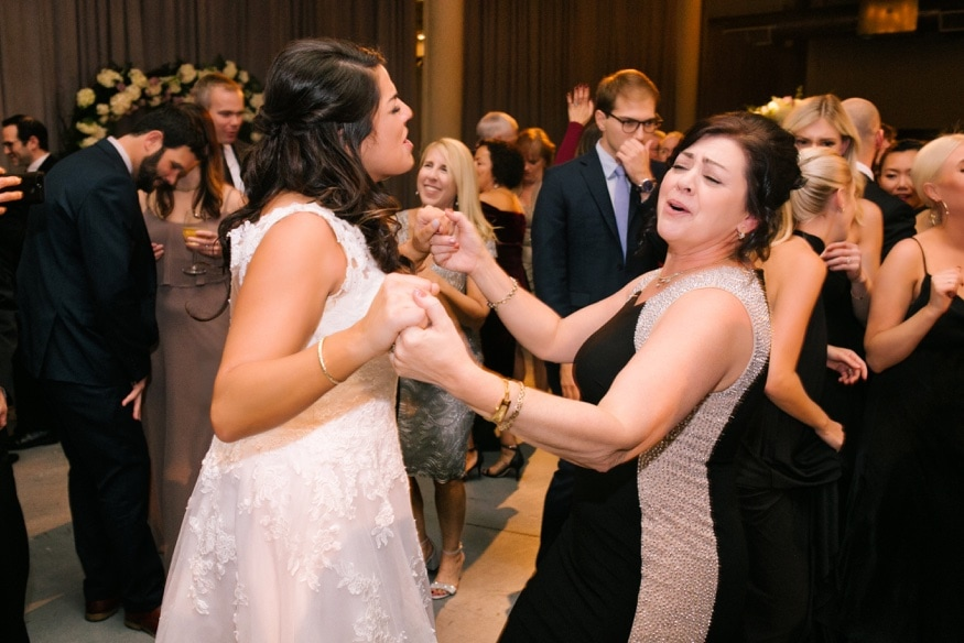 Dancing at Moulin Philadelphia wedding reception.