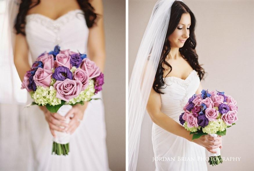 bride's bouquet from precious petals