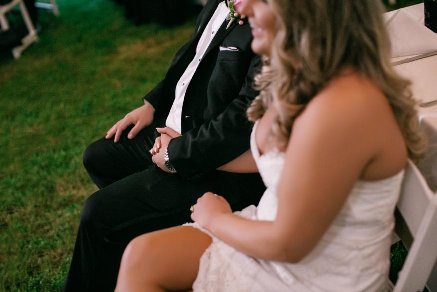 New Jersey backyard wedding.