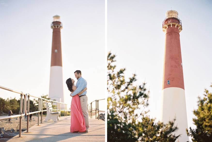 Barnegat Lighthouse engagement session.