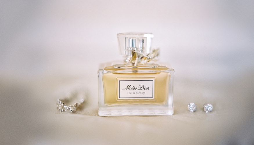 Bride's wedding day perfume.
