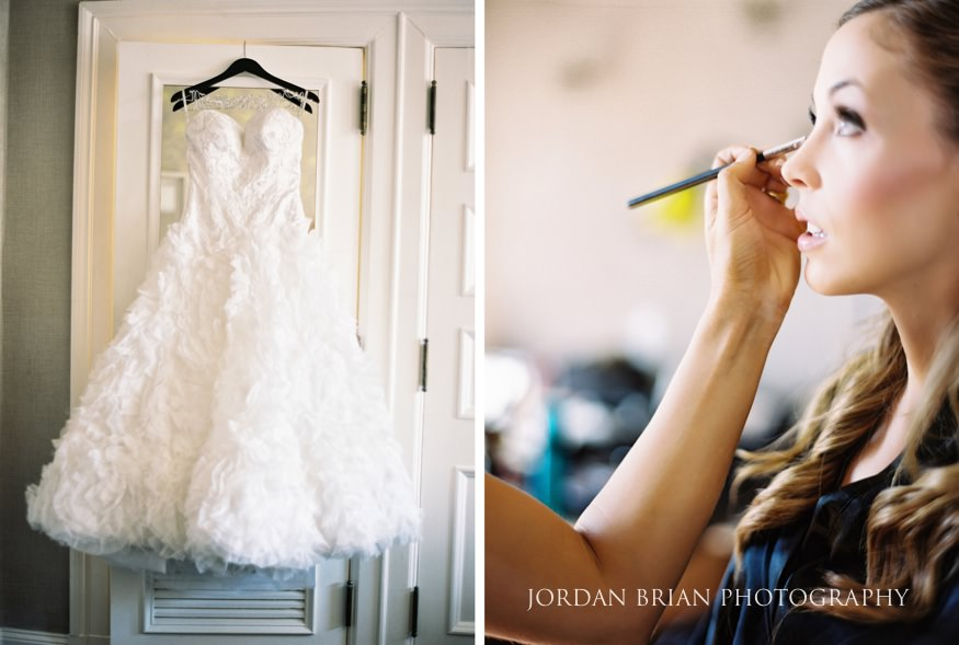 Bride's Kleinfeld's wedding dress by Pnina Tornai.