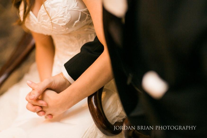 Wedding reception at Hyatt at the Bellevue hotel.
