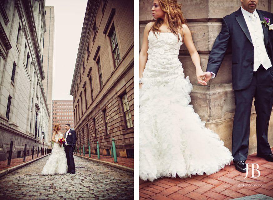Summer Curtis Center Wedding In Philadelphia