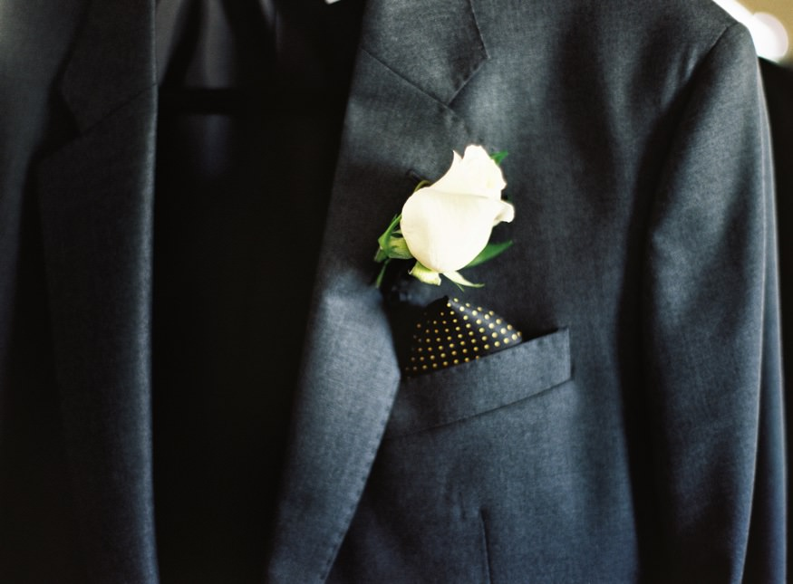 Groom's details at Ritz Carlton Philadelphia wedding.