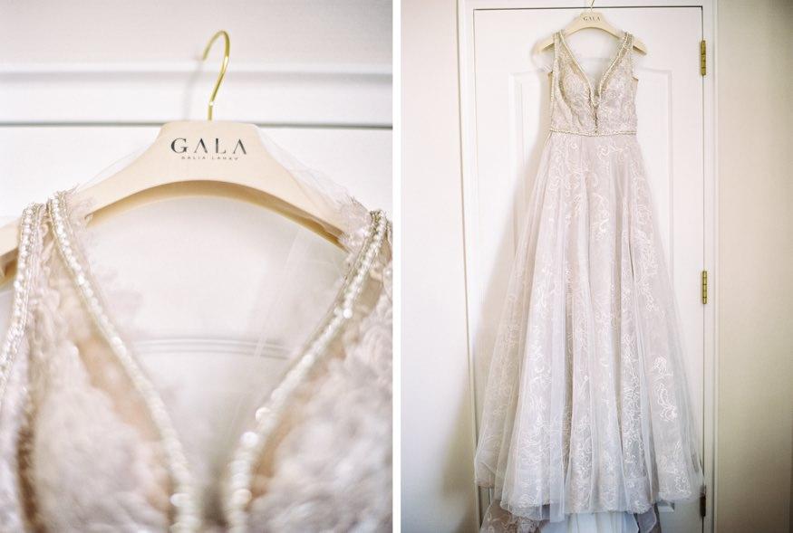 Galia Lahav wedding dress at Ritz Carlton wedding.