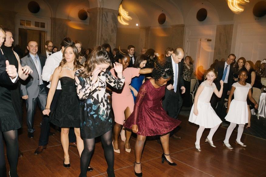 Ritz Carlton Philadelphia wedding reception.