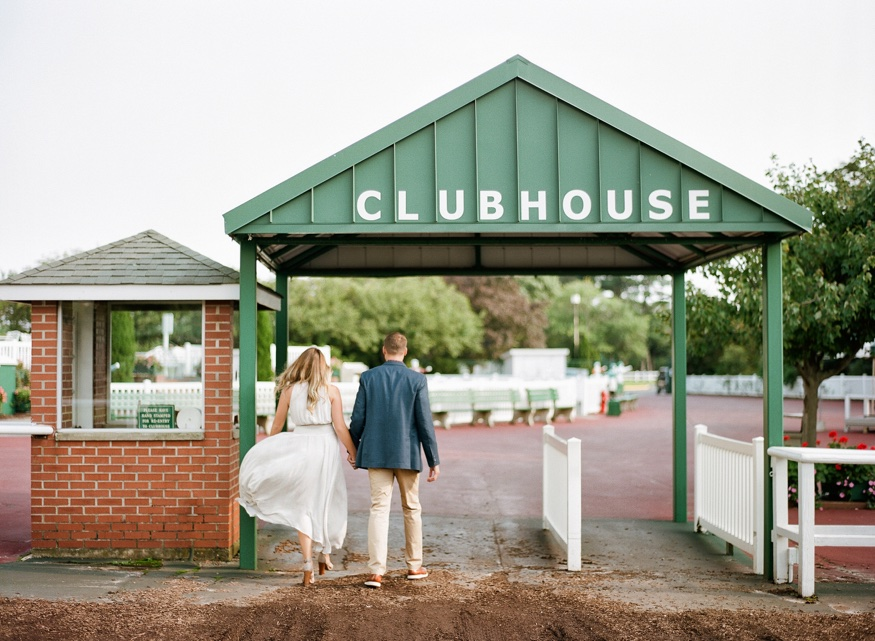 Monmouth Race Track Engagement session