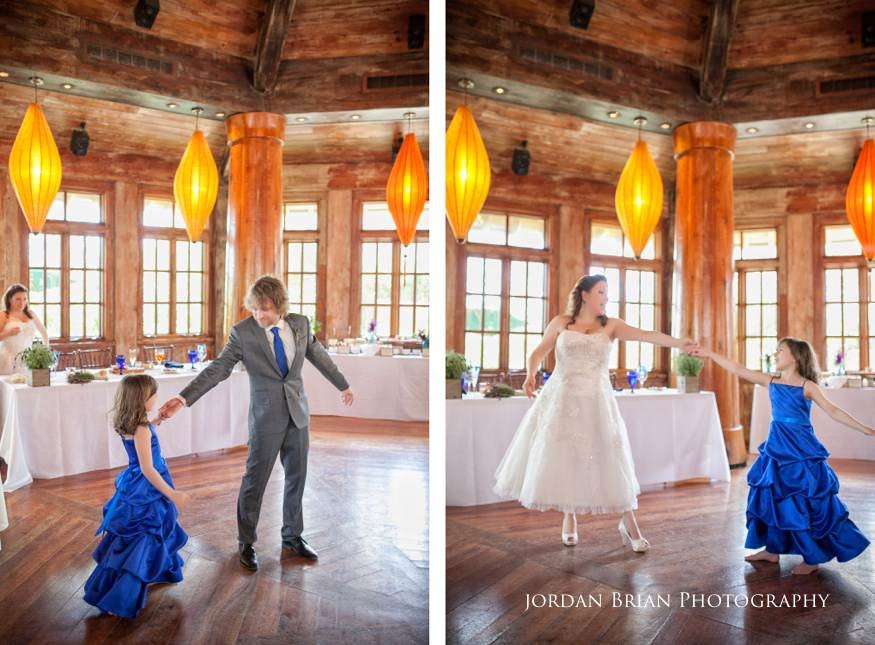Father and daughter dance at Grounds for Sculpture wedding