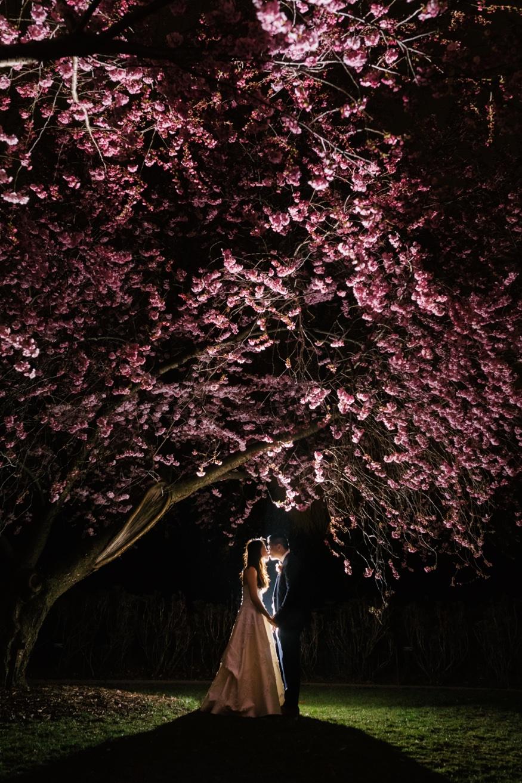 Brooklyn Botanic Garden wedding reception.